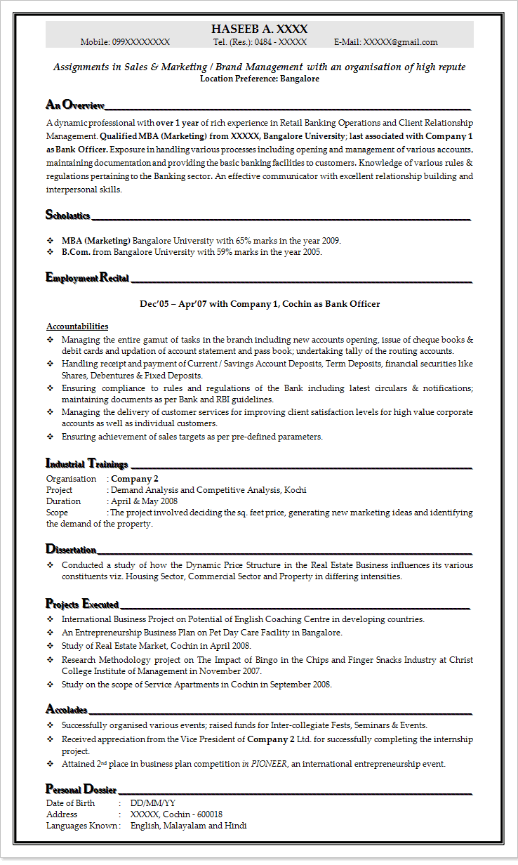 Resume Leasing Agent Examples Example Good Resume Template  Resume For Leasing Consultant
