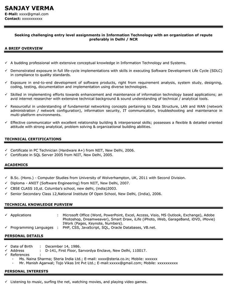 resume sles for marketing freshers 28 images marketing
