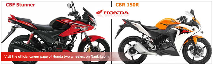 Indicative Salaries In Honda Motorcycle And Scooter India By Functional Area