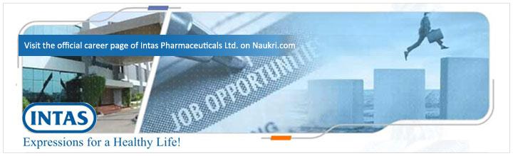Career in Intas Pharmaceuticals Ltd - Intas Pharmaceuticals Ltd salary