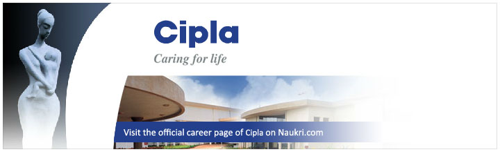 Career in Cipla - Cipla salary