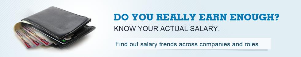 Company Salaries - Average Salary Graph of Top Companies