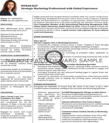CV Format - CV Samples - Resume Format - Naukrigulf.com