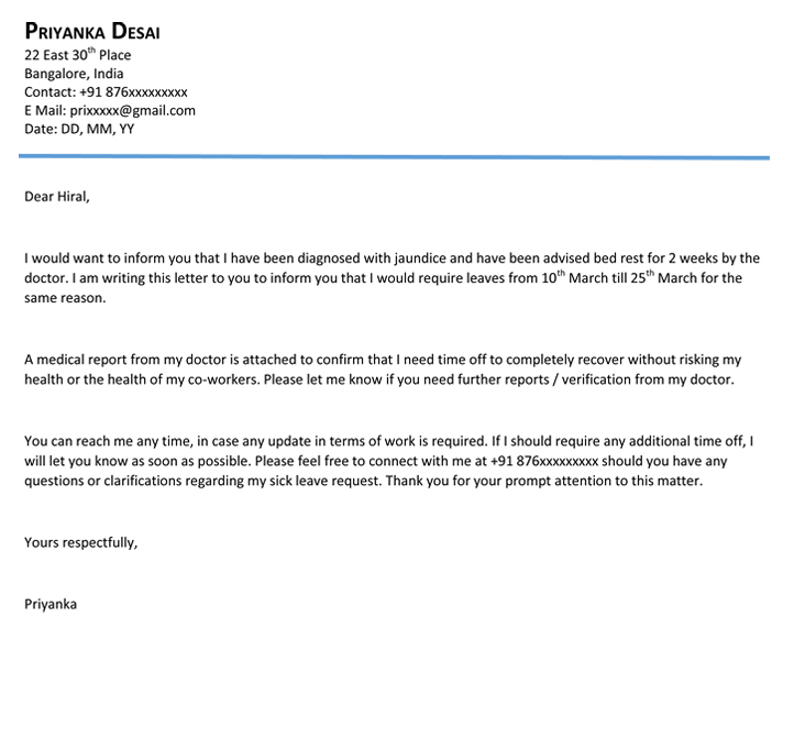 Delightful Download Leave Letter Leave Letter Format And Format For Leave Application